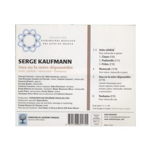 Serge Kaufmann - Ima ou la mère dépossédée