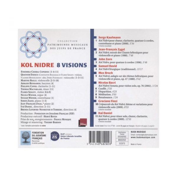 Kol Nidre - Huit visions