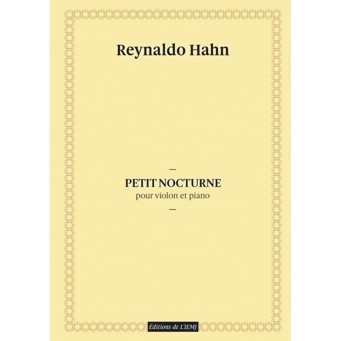 Reynaldo Hahn - Petit Nocturne pour violon et piano