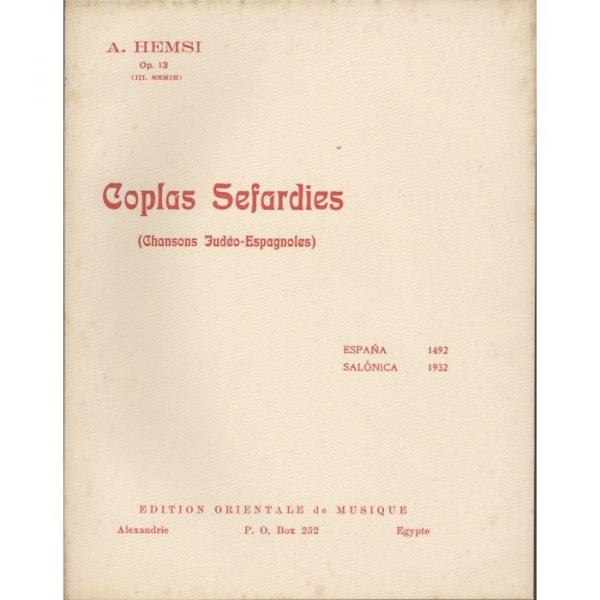 Coplas Sefardies (3eme serie)