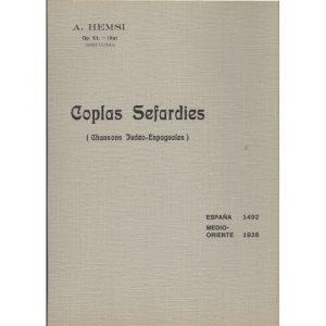 Coplas Sefardies (10eme serie)