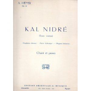 Kal Nidre (Alberto Hemsi)