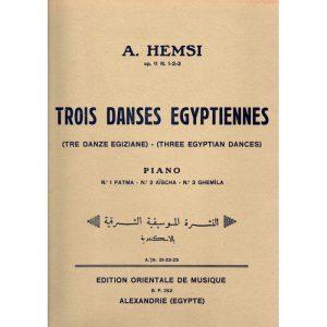 Trois danses égyptiennes (Alberto Hemsi)