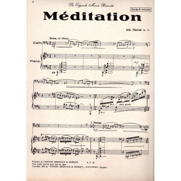 Meditation (Alberto Hemsi)
