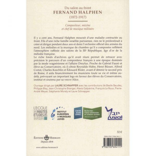 Du salon au front, Fernand Halphen (1872-1917)