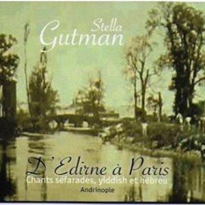 COUV CD Stella Gutman - D'Edirne à Paris