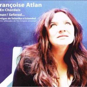 COUV CD FRANÇOISE ATLAN - AMAN ! SEFARAD