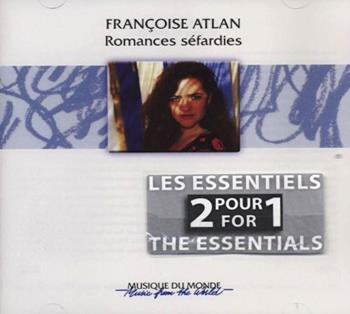 COUV CD Françoise Atlan-Romances Sefardies