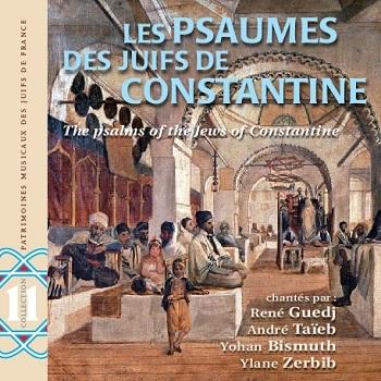 COUC CD PMJF 11 Psaumes Juifs de Constantine