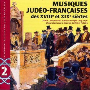 COV CD PMJF  - Musiques judéo-francaises des XVIIIe et XIXe siècles