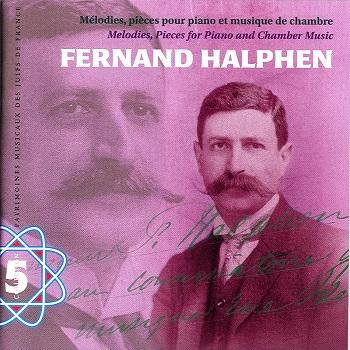 COUV CD PMJF 5 - Fernand Halphen