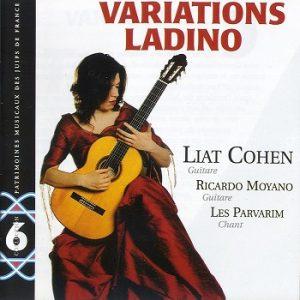 COUV CD PMJF 6 - Variations ladino