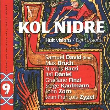 COUV CD PMJF 9 - Kol Nidre-Huit visions